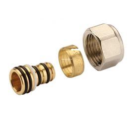 Фитинги компрессионные STOUT для труб PE-X/AL/PE-X 16х2,0х1/2