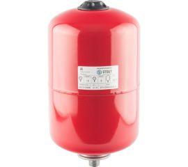 Расширительный бак STOUT на отопление 12 л. (цвет красный)