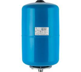 Расширительный бак STOUT, гидроаккумулятор 20 л. вертикальный (цвет синий)