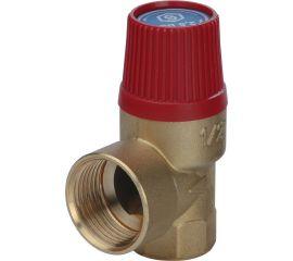 Клапан STOUT предохранительный 15 x 1/2 для систем отопления