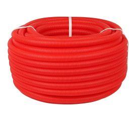 Гофрированная труба ПНД, красный