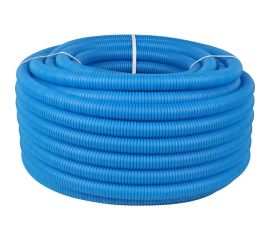 Гофрированная труба ПНД, синий