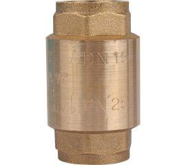 """STOUT Клапан обратный пружинный муфтовый с металлическим седлом 1/2"""""""