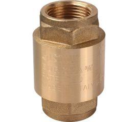 """STOUT Клапан обратный пружинный муфтовый с металлическим седлом 3/4"""""""