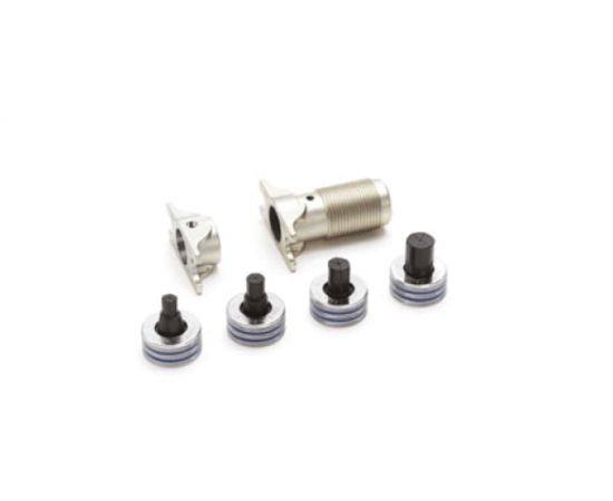 Сменный комплект для инструмента Rautool H2,E2,A2,A3,A-light, для труб Flex/Pink Насадки 16-32 Тиски 16, 20