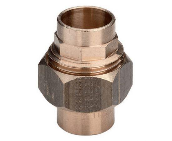 """Соединение разъемное с коническим уплотнением Viega d28"""", бронза, фото"""