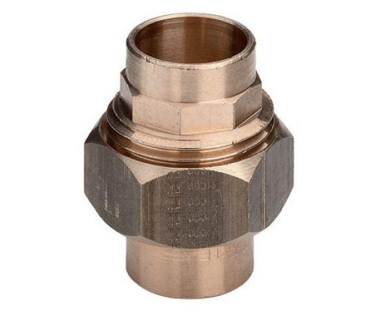 """Соединение разъемное с коническим уплотнением Viega d35"""", бронза, фото"""