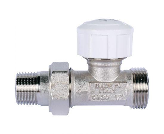 """Клапан термостатический STOUT, прямой 1/2"""" х 3/4""""ЕК"""